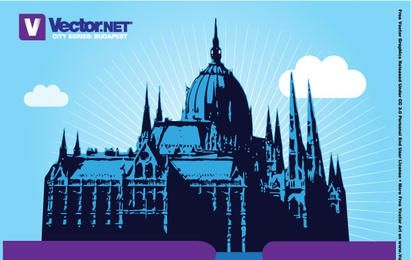Diseño del parlamento de budapest