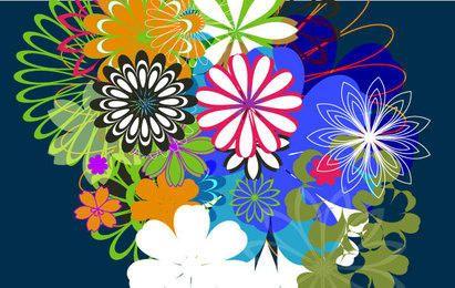 Vectores libres al azar - Parte 7: Flores