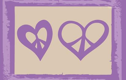 Sketchy Hearts in Frieden