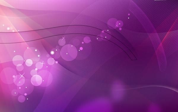 Fundo Violeta Onda Abstrata
