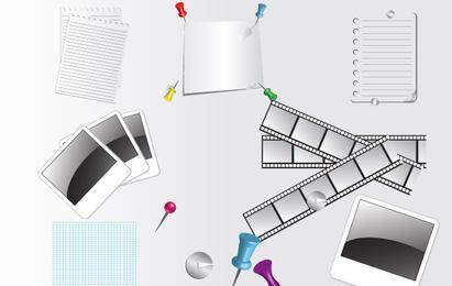 Set de accesorios de papel