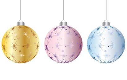 Starry Christmas Ornaments