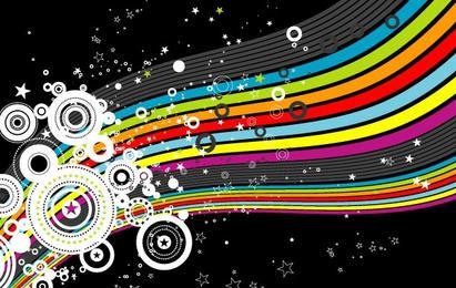 Arco-íris e círculos