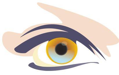 Woman eyes 1