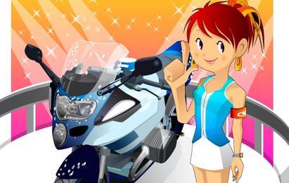 Garota da motocicleta 2