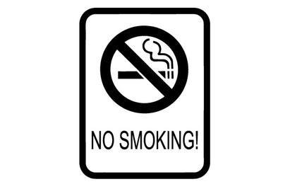 No Smoking clipe Entrar arte