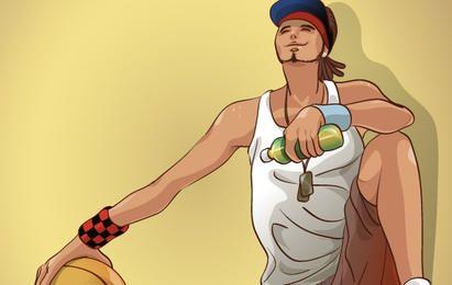 Basketball-Sportvektor 5