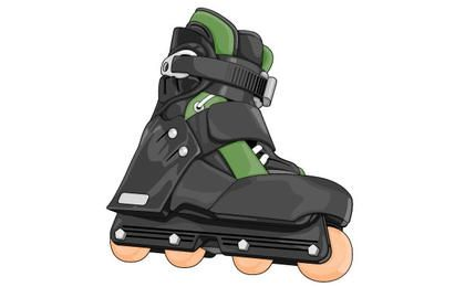 Roller skate shoes 2