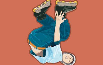 Roller Skate vetor 1