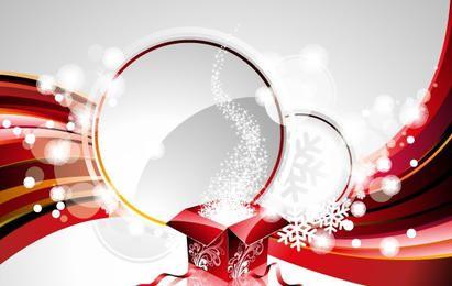 New Year Vector Background Design Element 2
