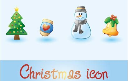 Holiday Christmas Icons