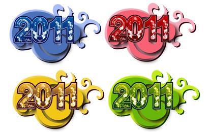 Símbolos de ano novo de 2011