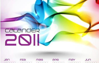 Banco de Imagens - Calendars 2011 Vector