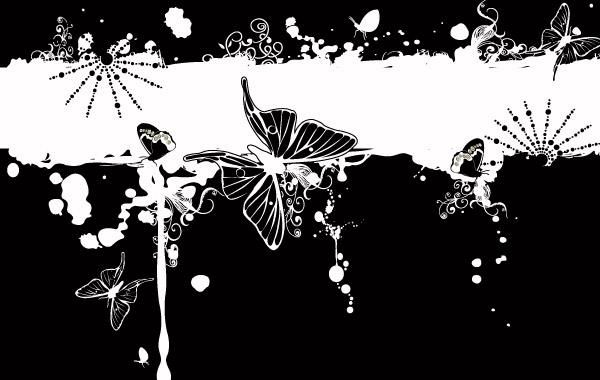 Butterfly fashion patterns