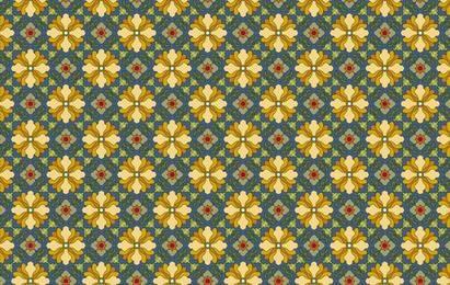 Patrón de azulejo clásico vector-7