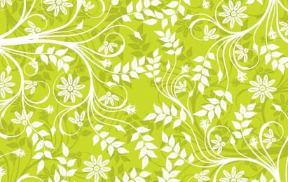 Green Background Pattern Vector