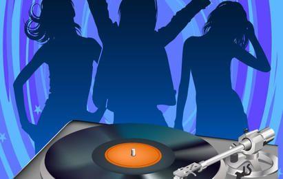 Disco-DJ-Vektor