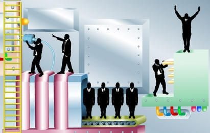 Vetores de ilustração de negócios
