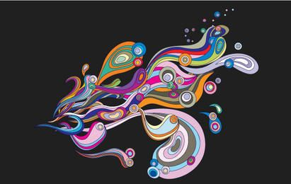 Abstract Illustrator Elements