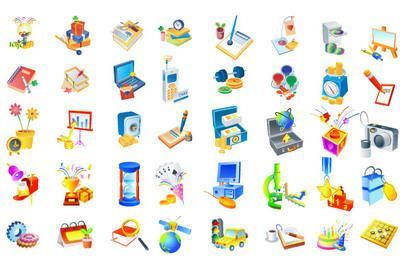Isometric Vector icons