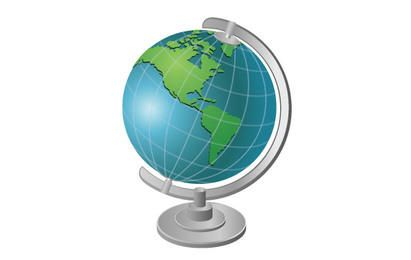 Globe Vector 2
