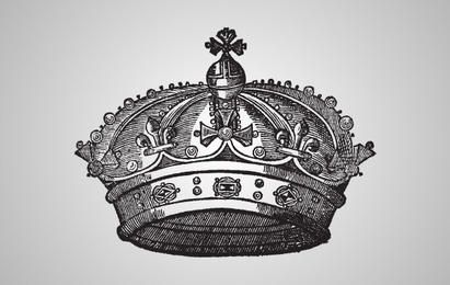 Medieval Crown Illustration