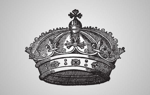 Medieval Crown Illustration