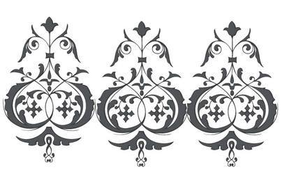 Ornaments Vector Set
