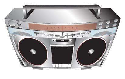 Conjunto de sistema de musica