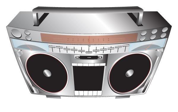 Conjunto de sistema de música