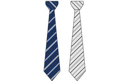 Vector Business Tie Set