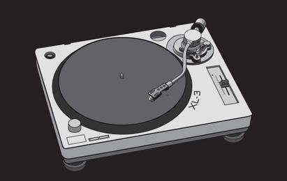 Free vector turntable