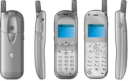 Vector de teléfono móvil gratis