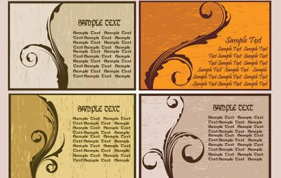 Nostalgia card-style pattern
