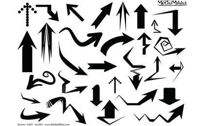 Arrow Vector Bundle