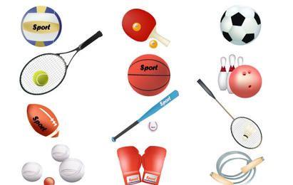 Free sports vector equipment