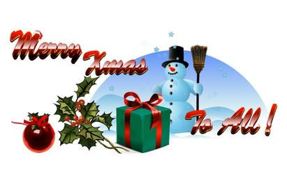 Pacote de vetor livre de Natal