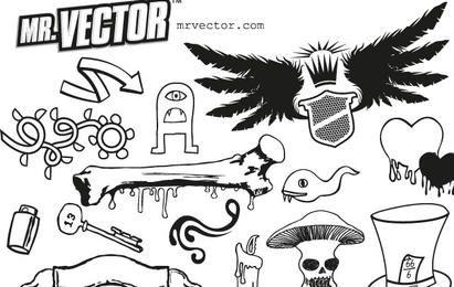 SUPER ULTRA FREEBIE VEKTORPACK DELUXE VOLUME 1