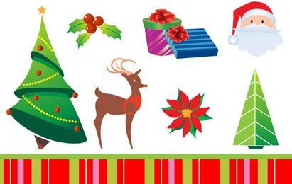 Conjunto de Férias de Natal