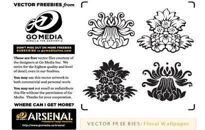 Floral Wallpaper Elements