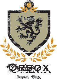 León escudo vector