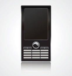Ilustración vectorial de teléfono móvil