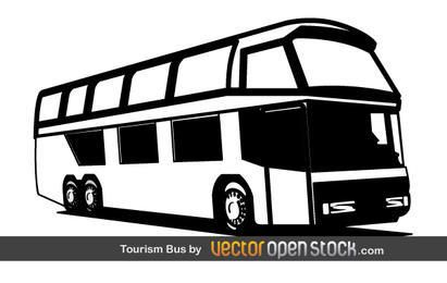 Free Tourism Bus Vector Graphic