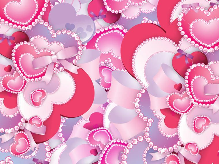Vector Heart Collage