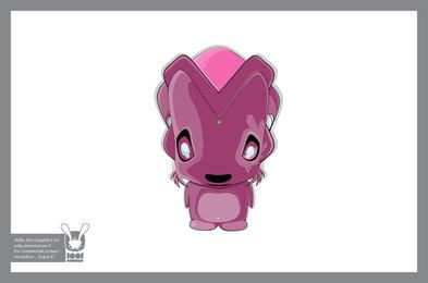 Alien Character 2 - Vector