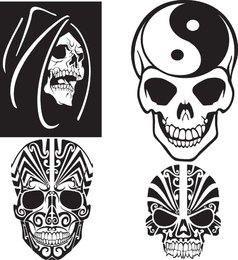 Free Unique Skull Vector
