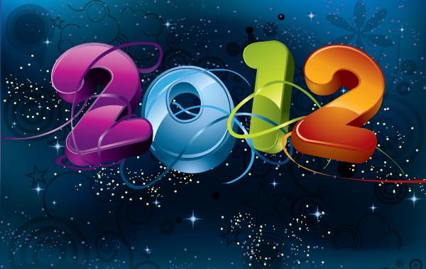 Free 2012 Vector Design