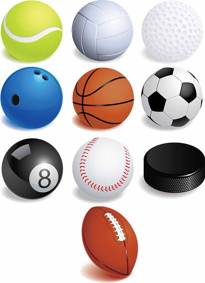 balls sports vector pelotas clipart sport deportes balones ball diferentes graphics cliparts ai eps deviantart clip qvectors library vectors attribution
