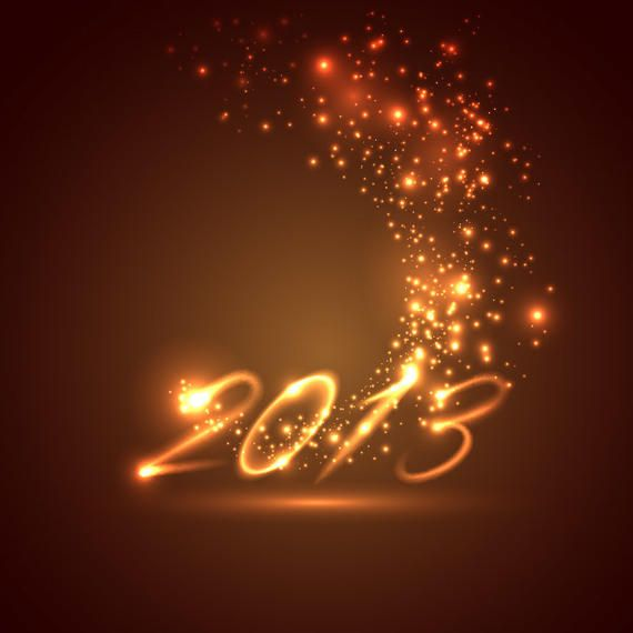 Free Year 2013 Vector