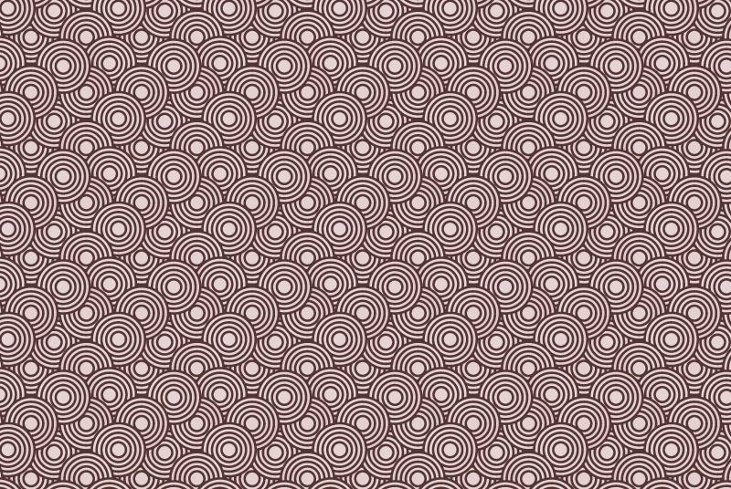 Free Vector Seamless Circles Pattern
